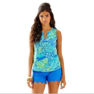 Lily Pulitzer Marlow sleeveless top